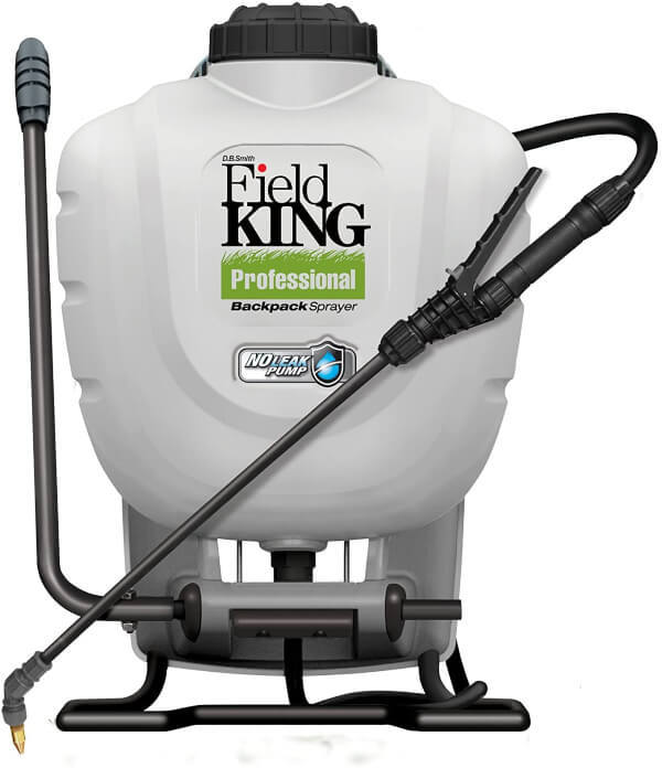 Field King Professional 190328  is made out of durable materials and a twenty-one-inch wand with Viton seals