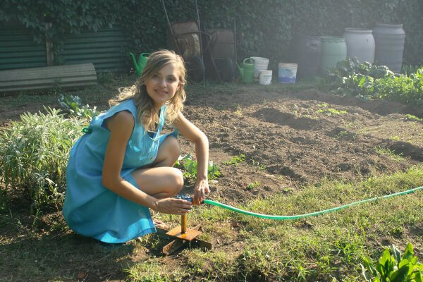 Gardening exposes you to sunlight stimulating the natural production of vitamin D