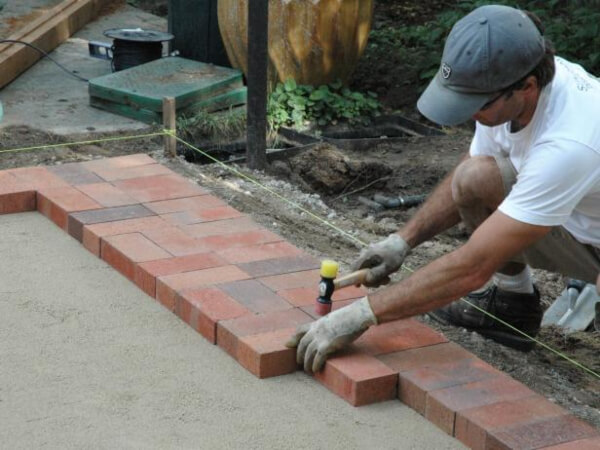 How to lay pavers?