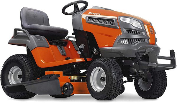 Husqvarna YT48DXLS 48 inches 25HP Kohler Lawn Tractor is equipped with an auto-locking rear differential that makes sure tires are moving in unison for traction