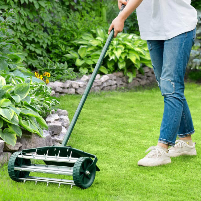 Lawn Aerator is a must in lawn care