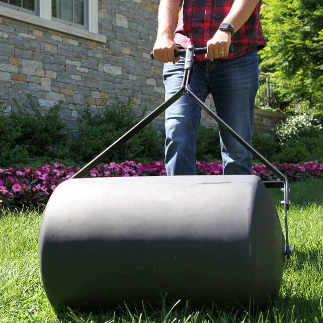 Lawn Roller is the best tool you will need to make your lawn look nicer
