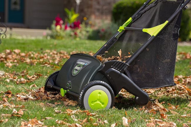 Lawn Sweeper is one of the best tools to clean your lawn