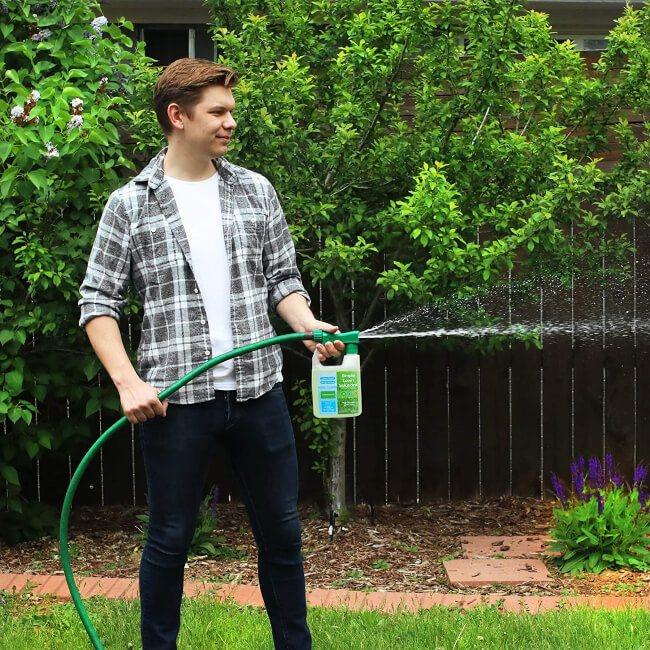 Maximum Green & Growth- High Nitrogen 28-0-0 NPK- Lawn Food Natural Liquid Fertilizer- Spring & Summer