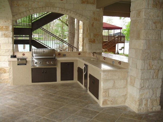 Outdoor Kitchen Can Improve Your Health