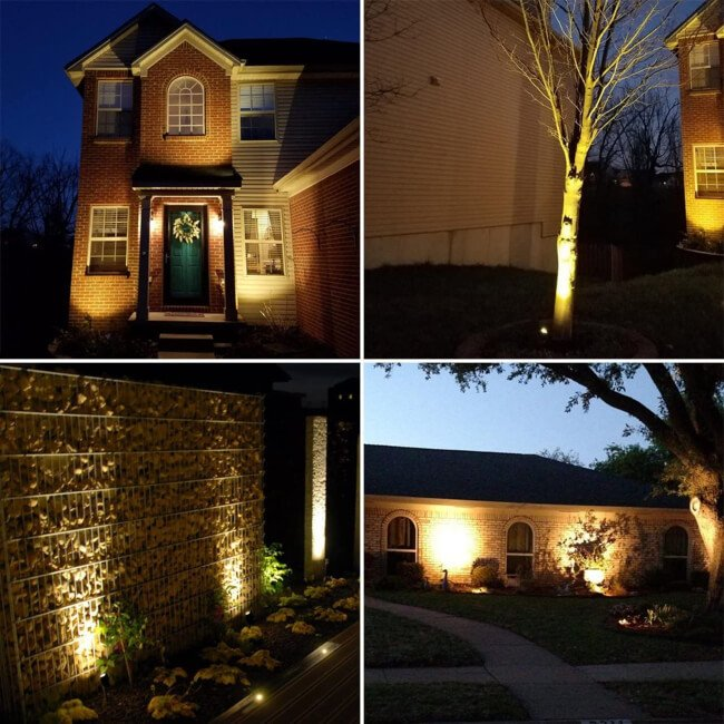Outdoor lighting is absolutely perfect for those late summer nights