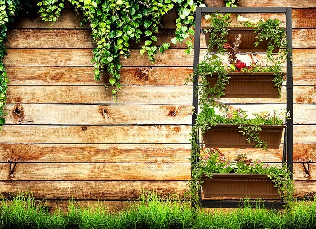 Portable containers allow you to pack your garden up and take it with you when you move