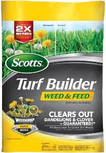 Scotts Clover Killer Weed and Feed