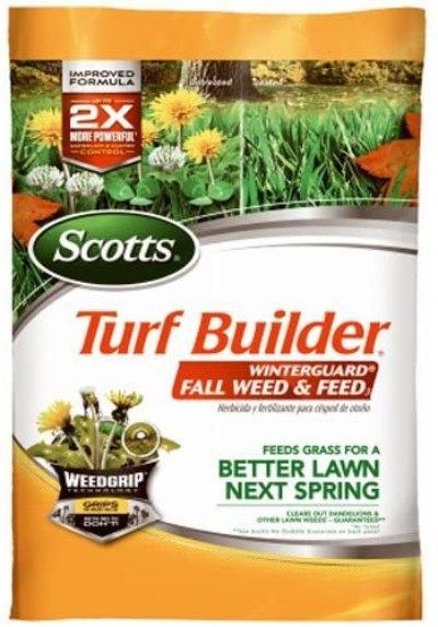 Scotts Turf Builder WinterGuard Fall Weed and Feed