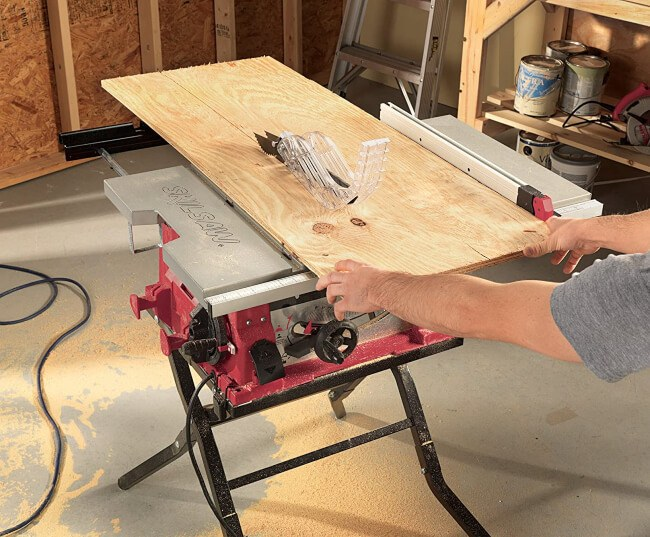When to use a Table Saw?