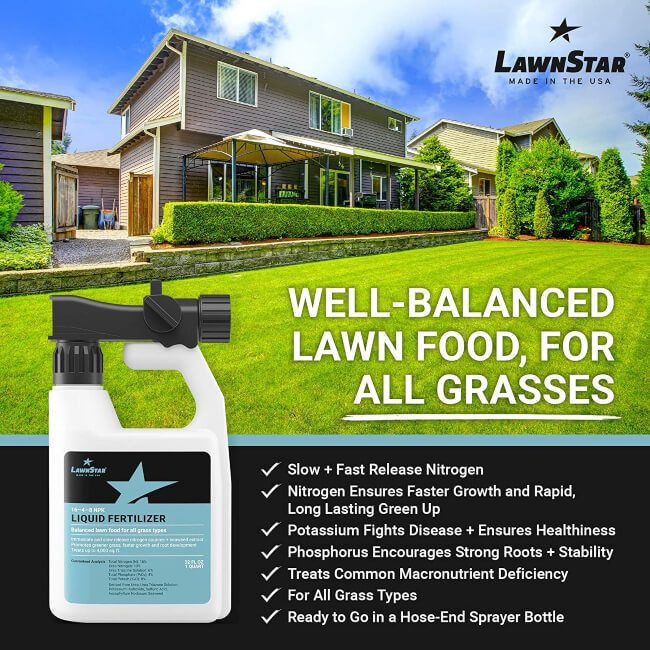 Well-Balance Lawn Food For All Grass