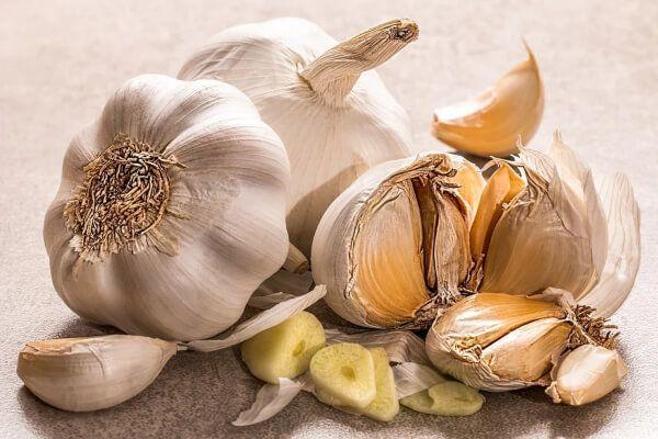 using garlic to get rid of mic