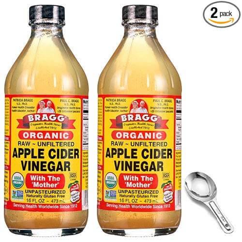 Apple cider vinegar as homemade bug spray