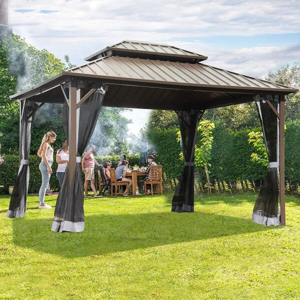 Hot Tub Gazebos are showing up in more and more people's gardens