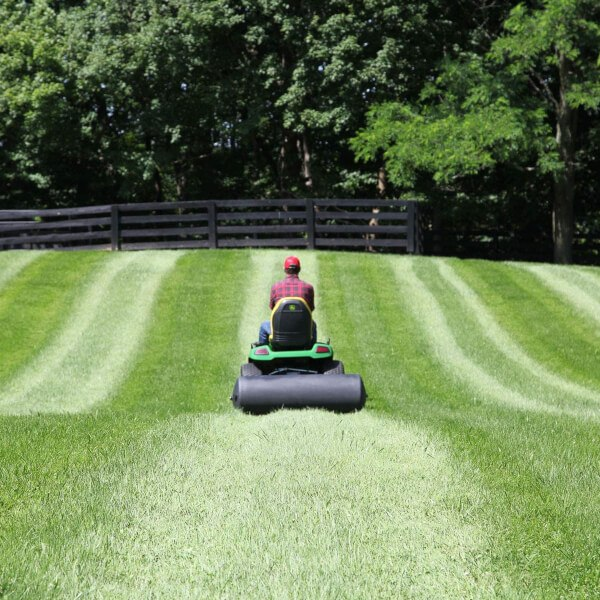 Lawn roller is a necessity in establishing new sod in your lawn