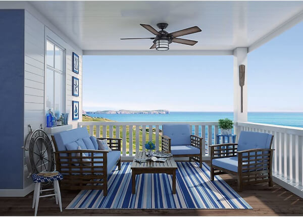 Outdoor fans Bring Out the Best in Your Patio