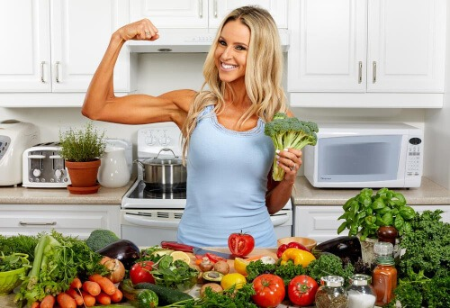 Broccoli is high in detoxifying the body from toxins that you are consuming every single day.