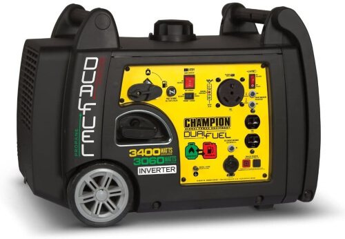 Champion 3400-Watt Dual Fuel RV Ready Portable Inverter Generator (1)