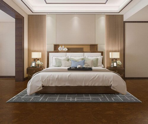 Cork Flooring is another eco-friendly material and is a good source of renewable energy.