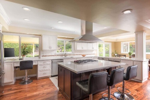 """Engineered Hardwood is generally more appealing as compared to a laminate floor, as it looks more """"real"""""""