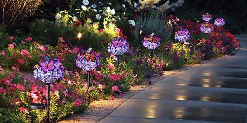 Lighting can breathe life into your garden