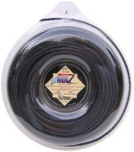 LoNoiz Spool Commercial Grade Spiral Twist Quiet 1-Pound Grass Trimmer Line, Black LN130DLG-12