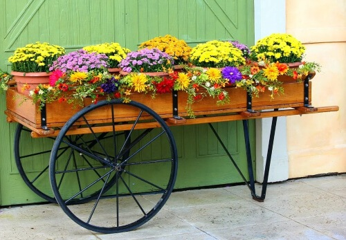 One way to revamp your garden is to use useless outdoor décor accessories