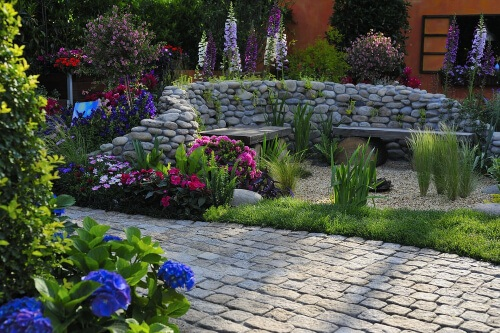 Plants can also be used as physical barriers in your landscape