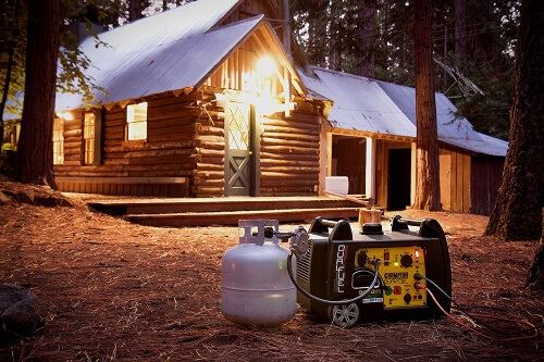 Portable generators run a gas-powered engine that helps them to provide electricity