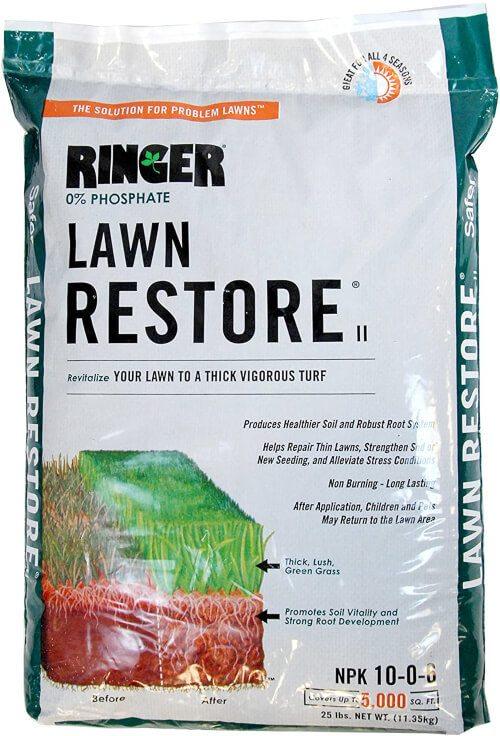 Safer Brand 9333 Ringer Lawn Fertilizer for Killing Weeds in Lawns and Gardens