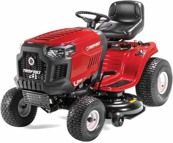 Troy-Bilt Pony 42X Riding Lawn Mower with 42-Inch Deck and 547cc Engine Tractor