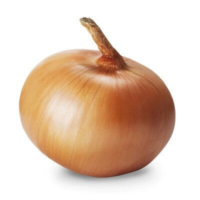 Yellow granex are sweet tasting onions that look flat and only measures three to four inches in diameter