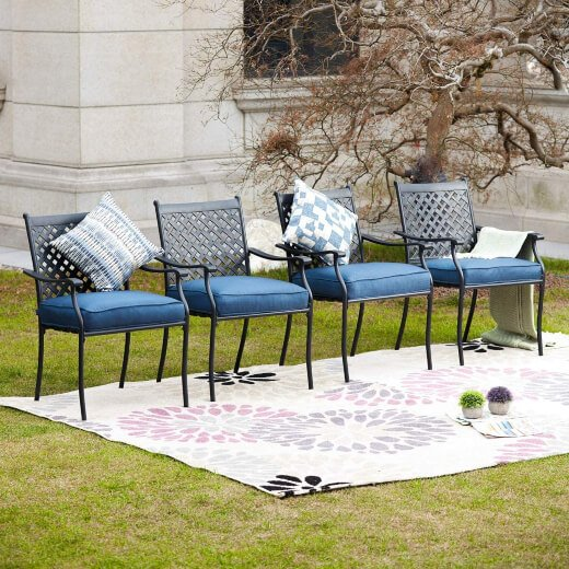 How to Clean Metal Patio Furniture