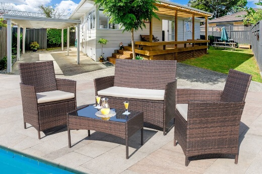 How to clean outdoor your furniture