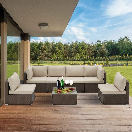 Wicker furniture is the premier choice for patios, porches, and decks for many years