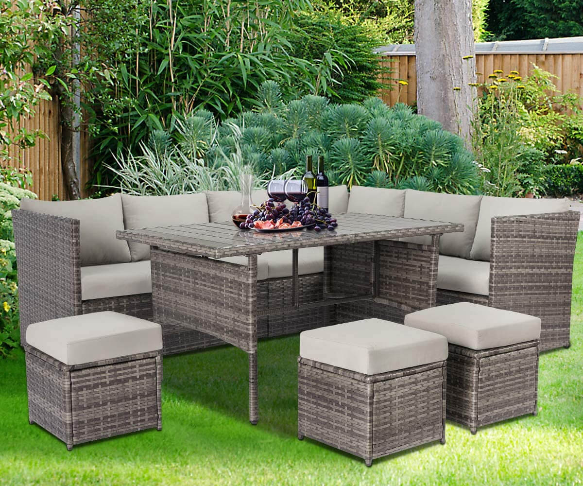 Comfortable seating for your garden accessories